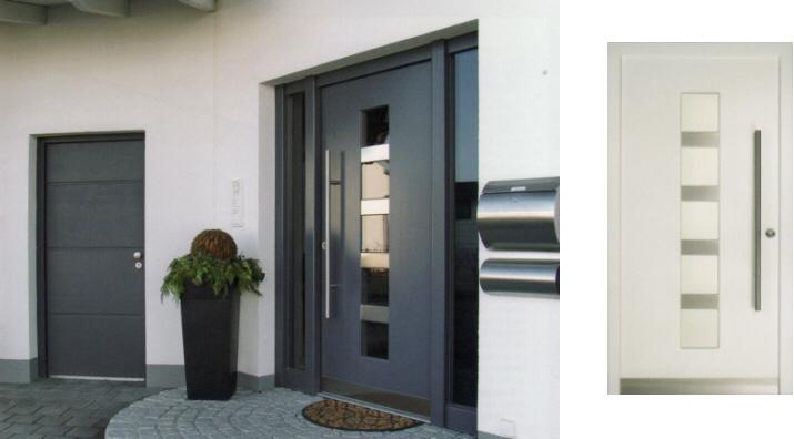 Alutüren  H&H Bauelemente | Haustüren / Garagentore